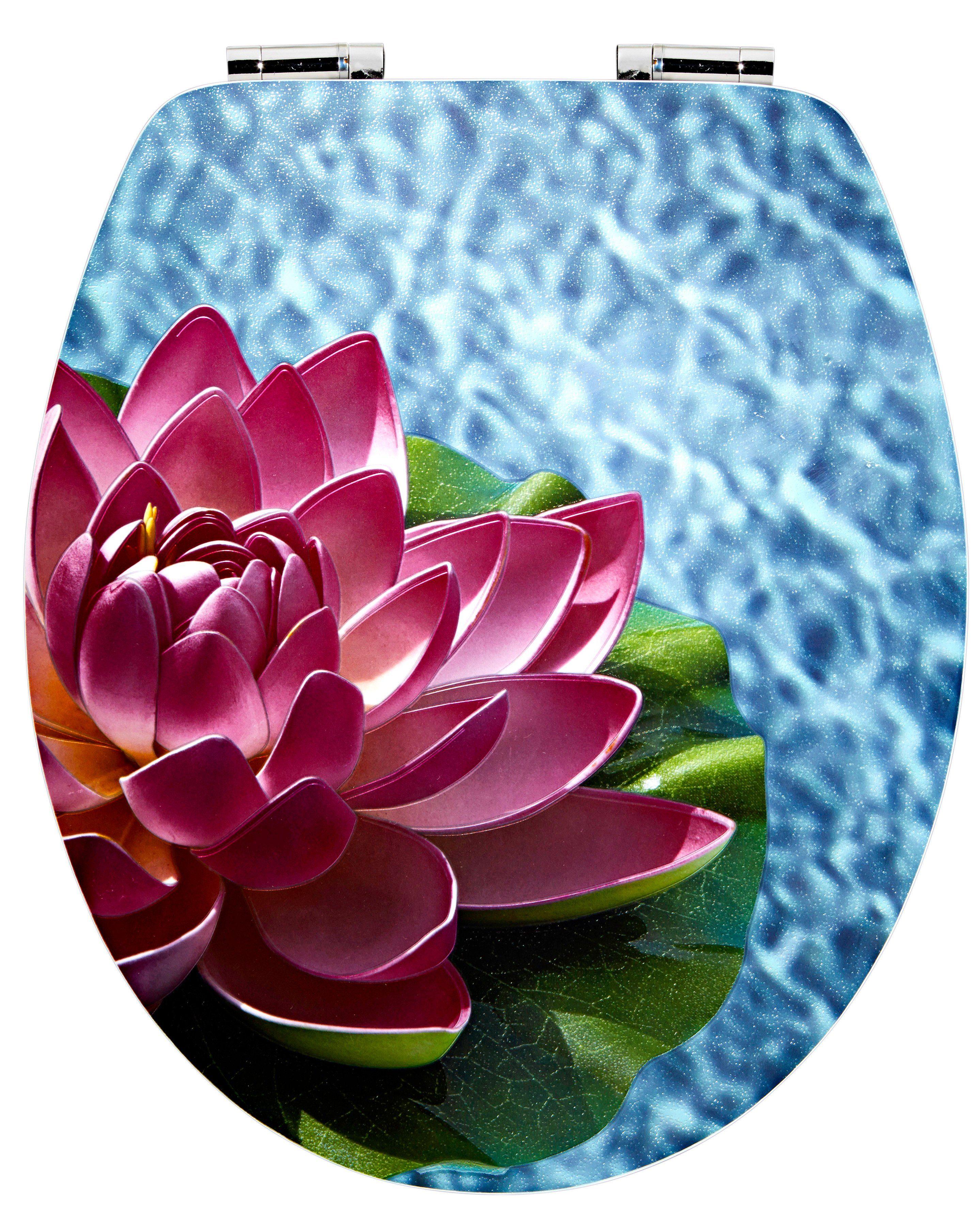 WC-Sitz »Lotus«, Mit Absenkautomatik