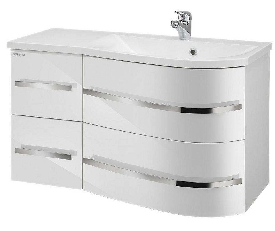 Waschtisch »Opal«, Breite 90 cm, (2-tlg.) in weiß