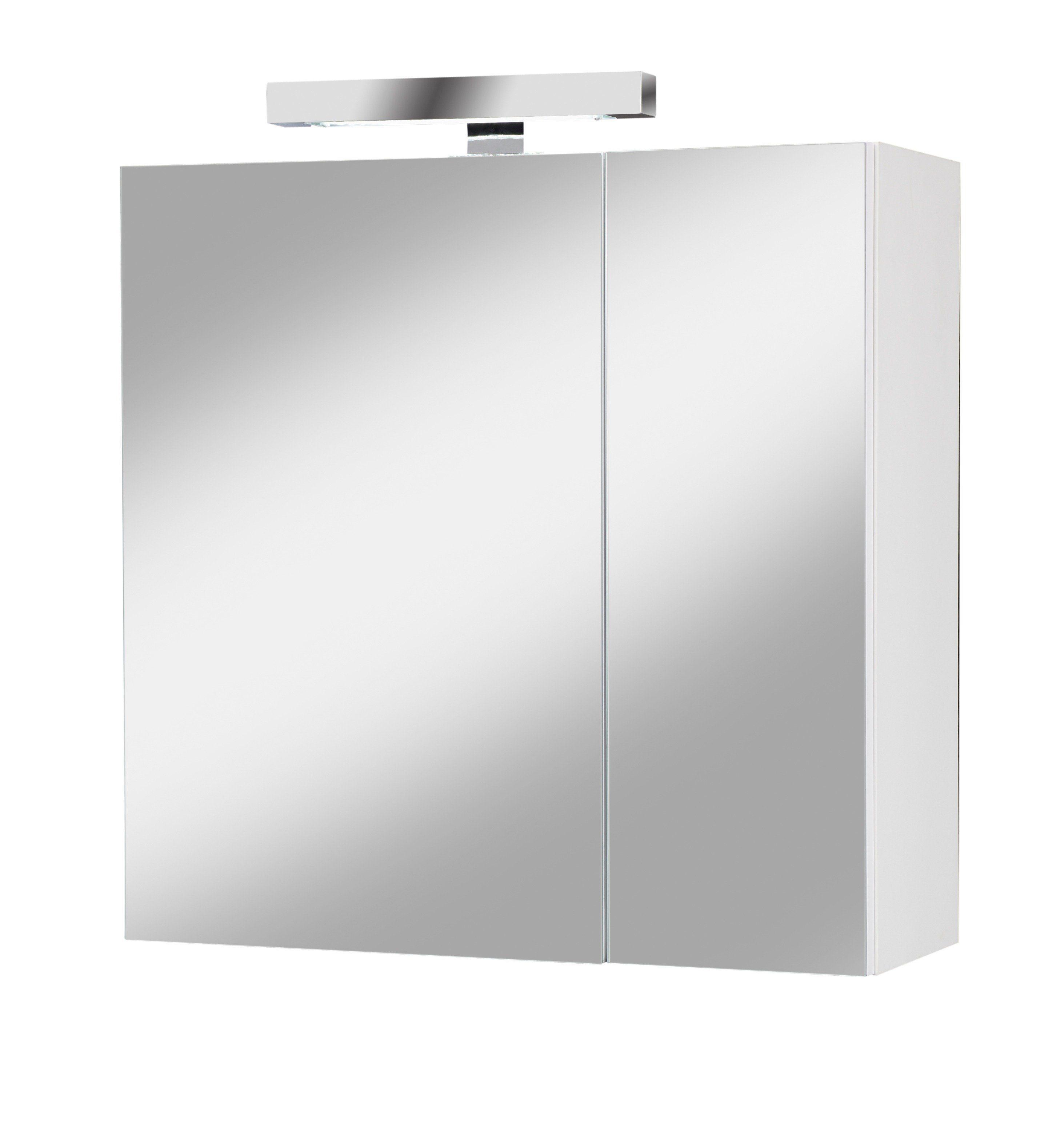 Spiegelschrank »Prag« Breite 61 cm, mit Beleuchtung