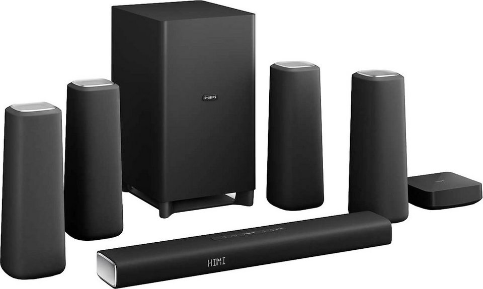 philips css5530b 12 5 1 heimkinosystem 420 w bluetooth. Black Bedroom Furniture Sets. Home Design Ideas