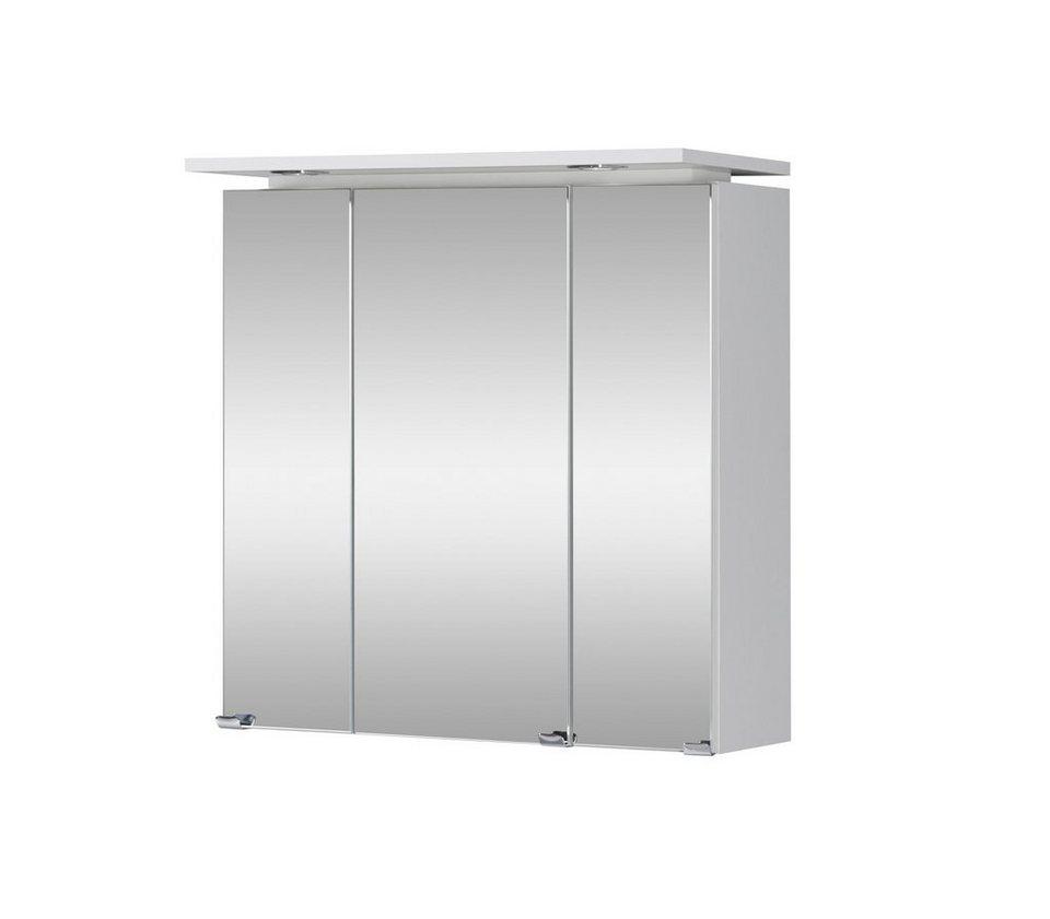 spiegelschrank lugo breite 60 cm mit led beleuchtung. Black Bedroom Furniture Sets. Home Design Ideas