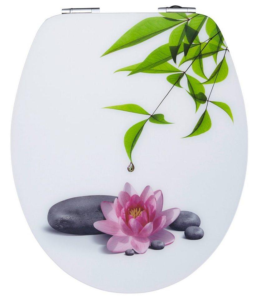 wc sitz water lilly gratis motivstopfen mit absenkautomatik online kaufen otto. Black Bedroom Furniture Sets. Home Design Ideas