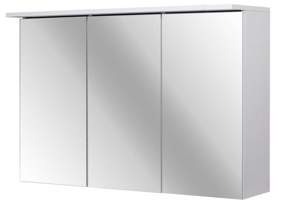 Spiegelschrank »Flex« Breite 90 cm, mit LED-Beleuchtung in weiß