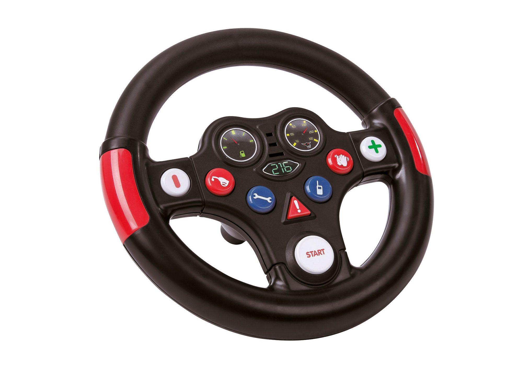 BIG Lenkrad, »Racing-Sound-Wheel«