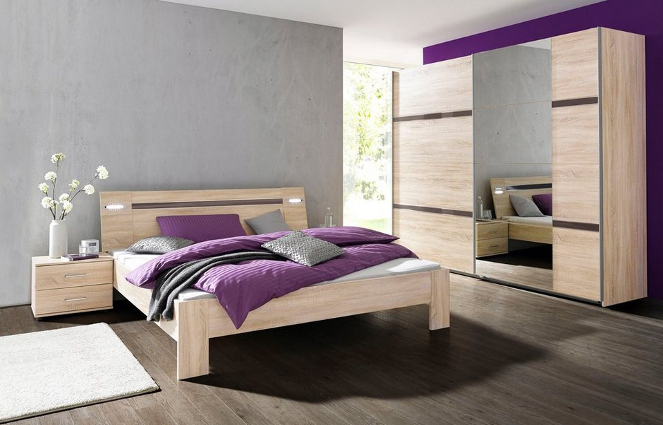 wimex schlafzimmer sparset mit schwebet renschrank 4 tlg. Black Bedroom Furniture Sets. Home Design Ideas