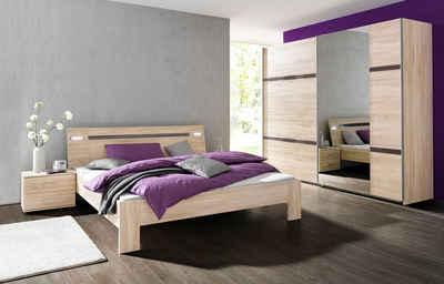 wimex schlafzimmer sparset mit schwebetrenschrank 4 tlg - Schlafzimmer