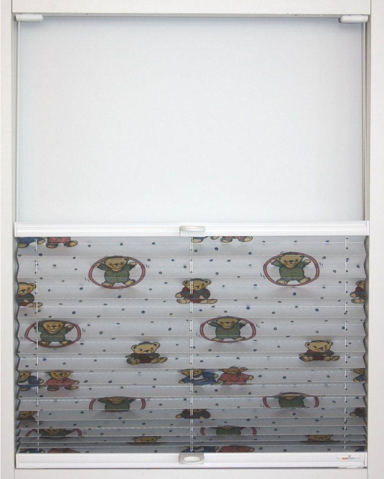 plissee nach ma teddy sunlines lichtschutz perlreflex beschichtet ohne bohren verspannt. Black Bedroom Furniture Sets. Home Design Ideas