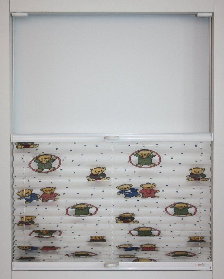 plissee nach ma teddy sunlines lichtschutz mit bohren verspannt online kaufen otto. Black Bedroom Furniture Sets. Home Design Ideas