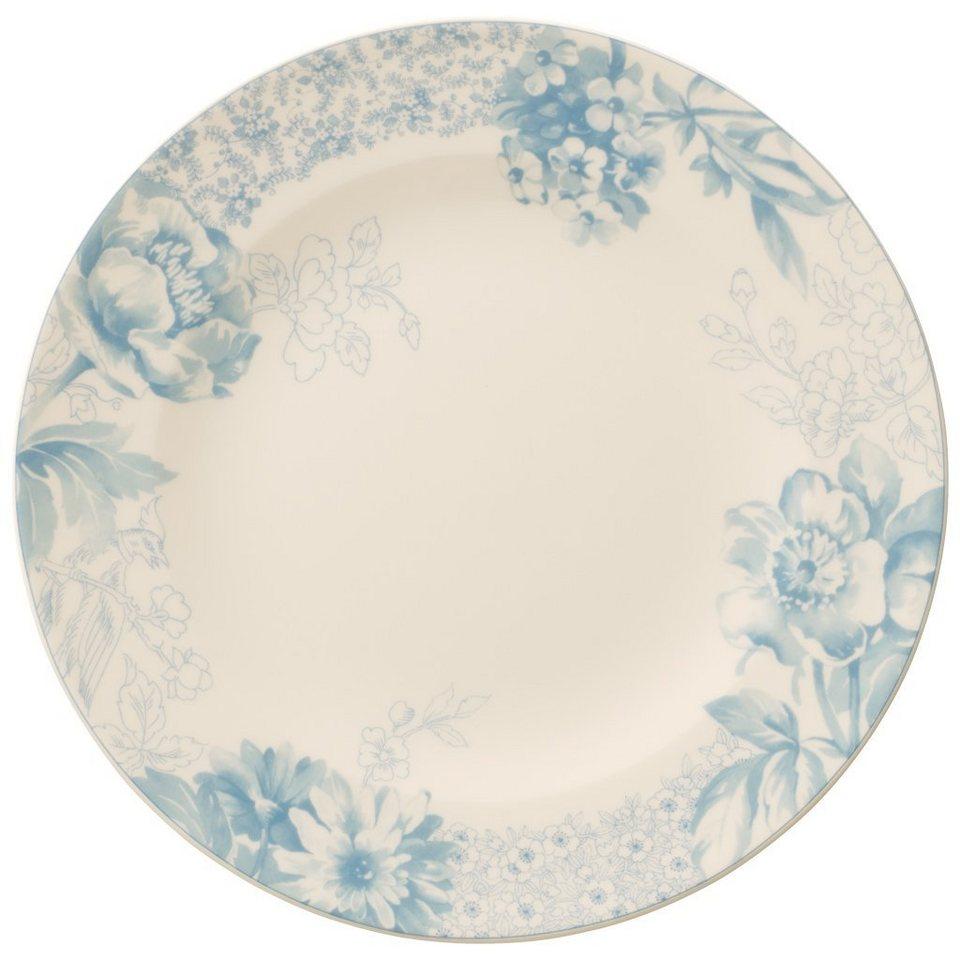 VILLEROY & BOCH Frühstücksteller »Floreana Blue« in Dekoriert