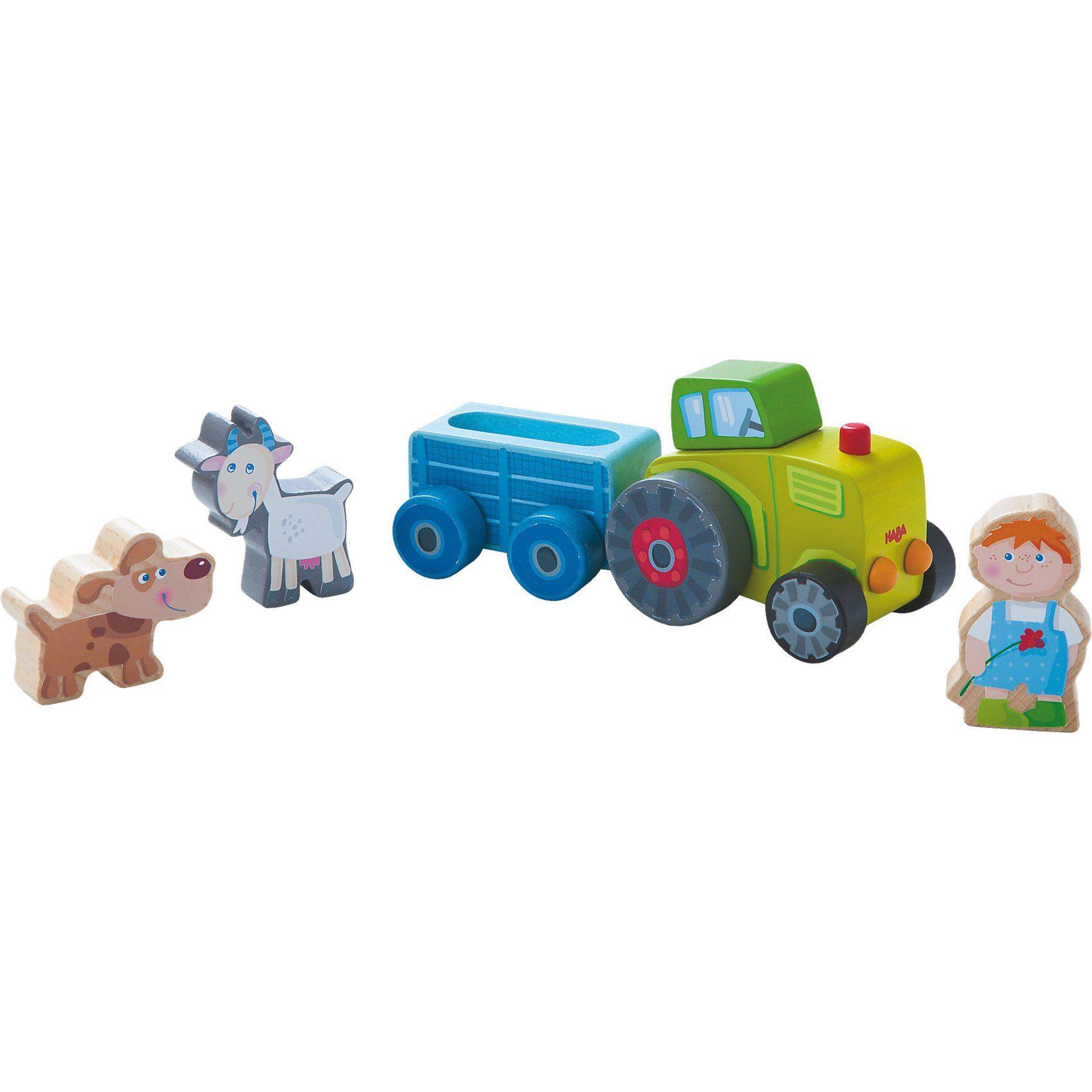 Haba Spielwelt Peters Traktor