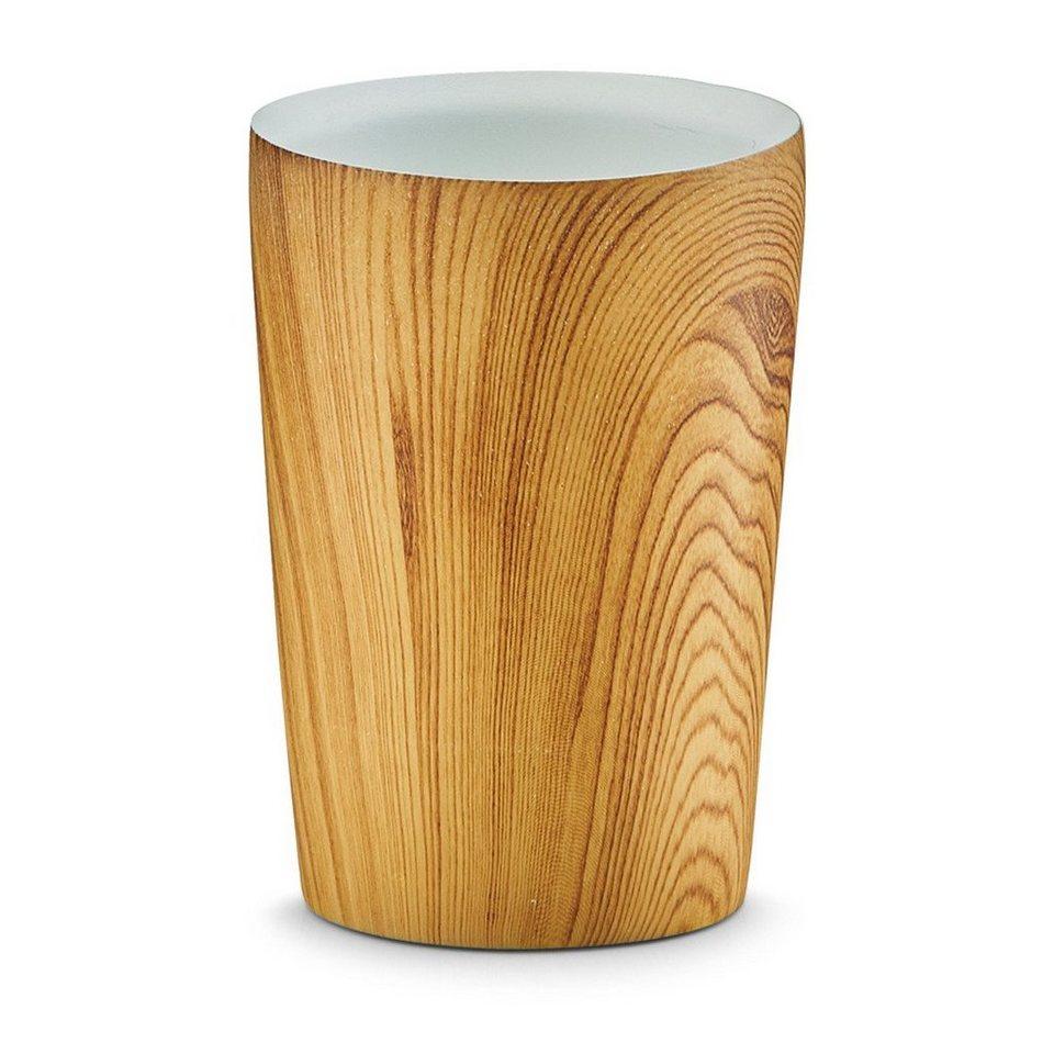 Zahnputzbecher »Wood« in holzfarben