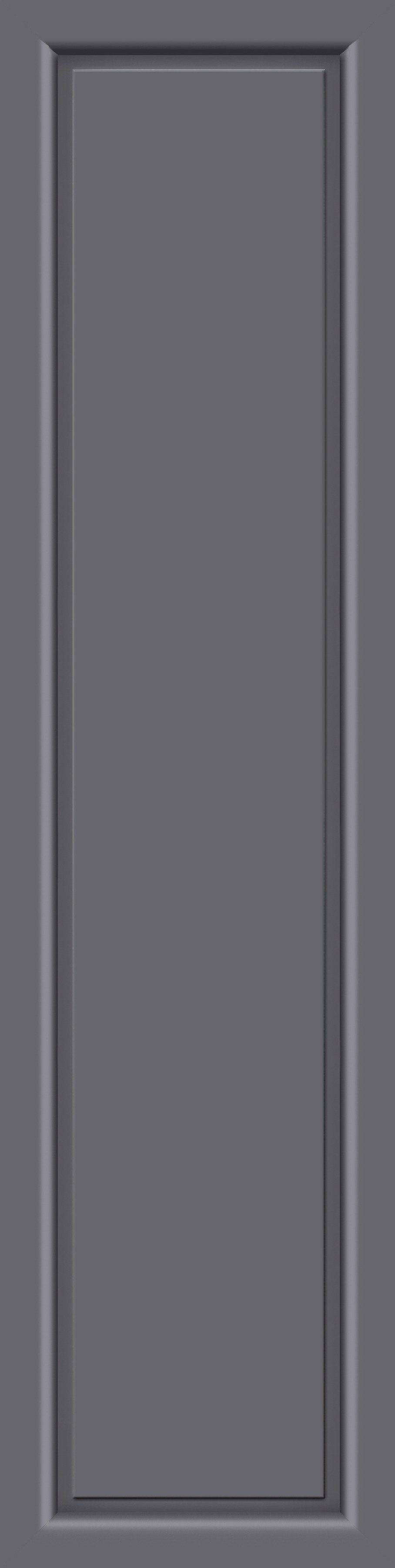 KM MEETH ZAUN GMBH Seitenteile »S04«, für Alu-Haustür, BxH: 50x208 cm, anthrazit