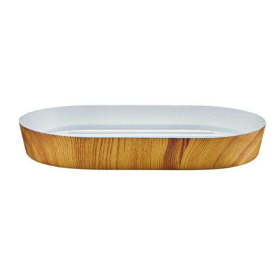 Seifenschale »Wood« in holzfarben
