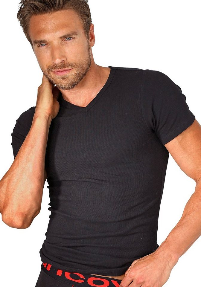 Schiesser Uncover T-Shirt in 1x schwarz