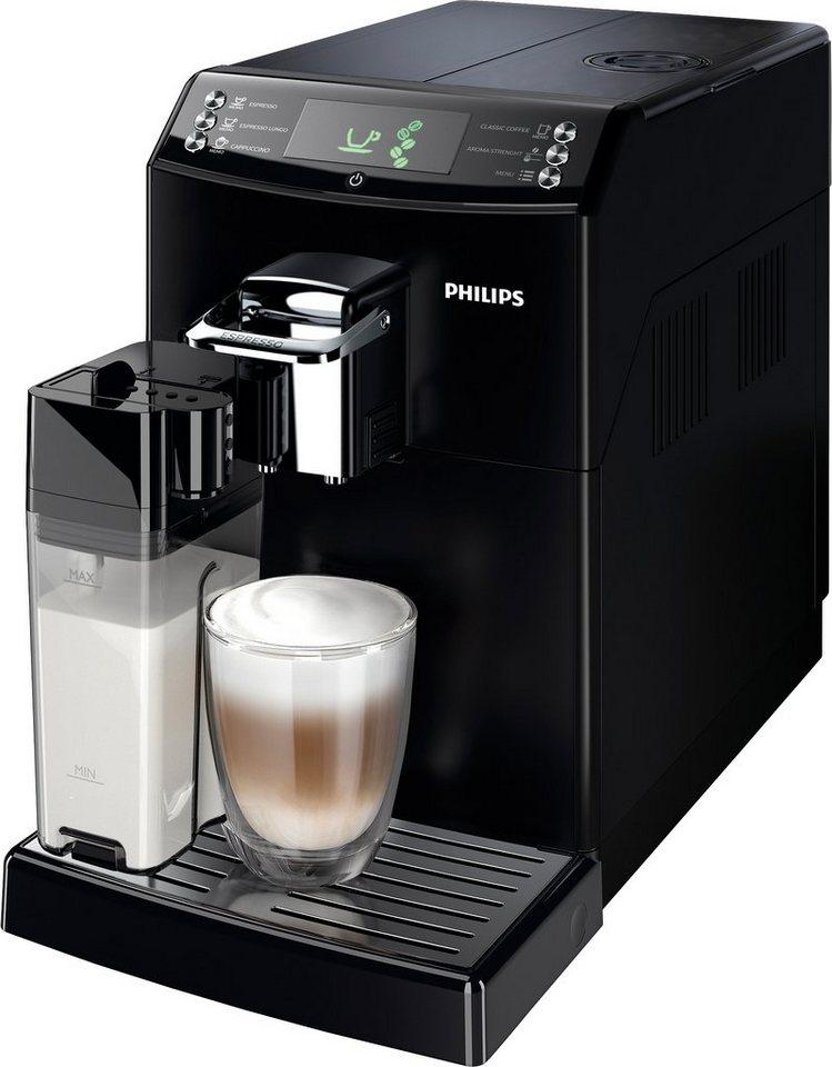 Philips Kaffeevollautomat 4000 Series HD8847/01 mit CoffeeSwitch™ und Milchkaraffe in schwarz
