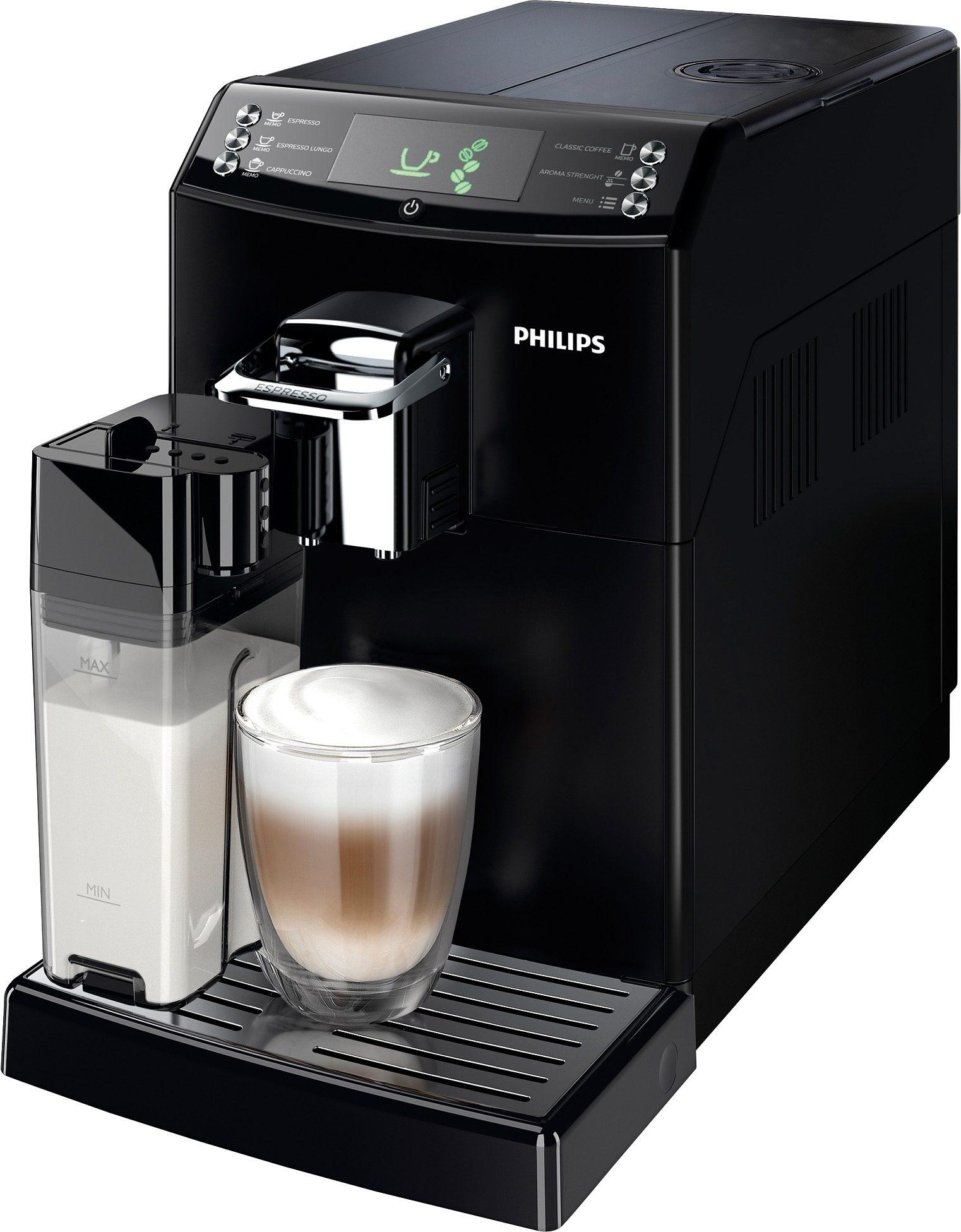 Philips Kaffeevollautomat 4000 Series HD8847/01 mit CoffeeSwitch™ und Milchkaraffe