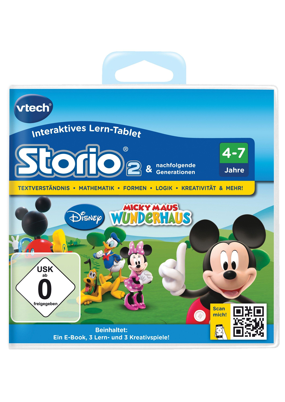 VTech Lernspiel, »Storio 2, Disney Micky Maus Wunderhaus«