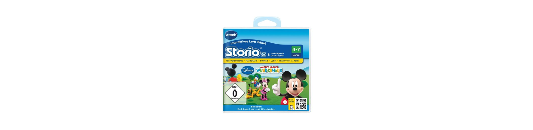 Lernspiel, VTech, »Storio 2, Disney Micky Maus Wunderhaus«