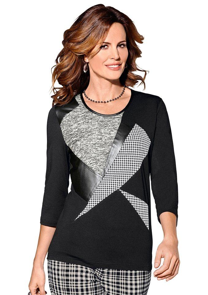 Alessa W. Shirt in schwarz