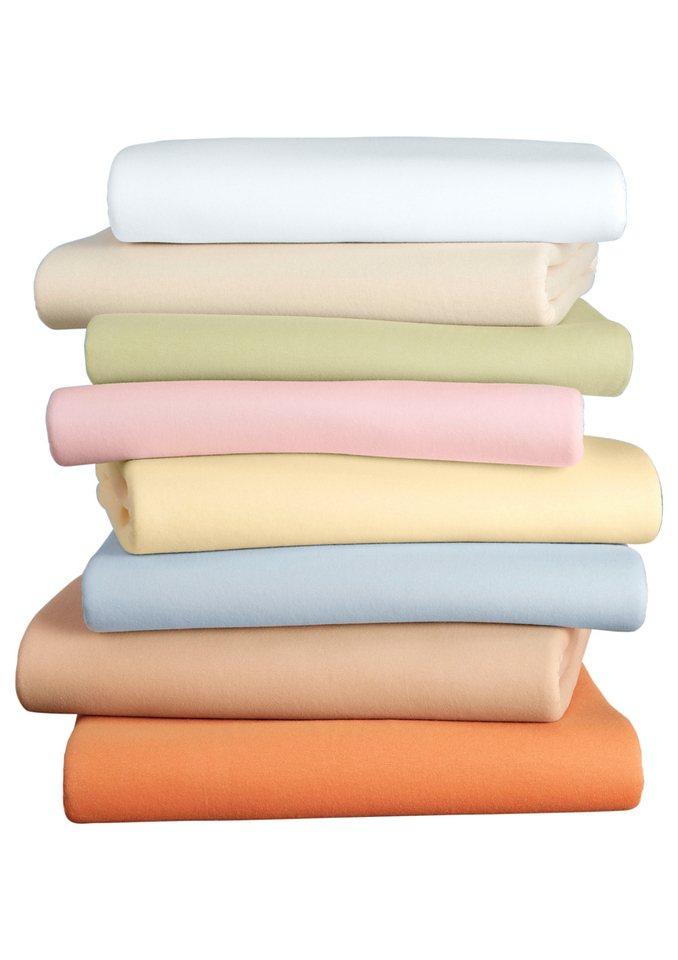 Spannbetttuch in weiß