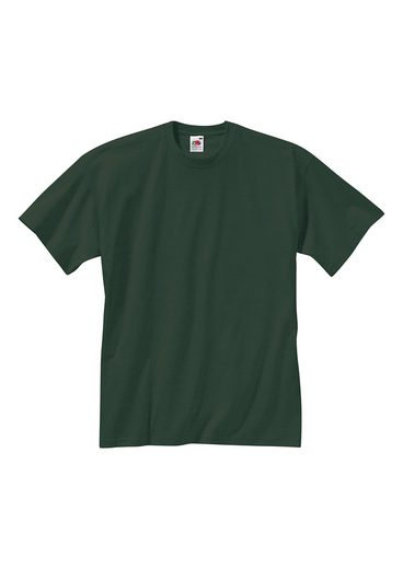 Fruit Of The Loom Shirt aus reiner Baumwolle (2er Pack)