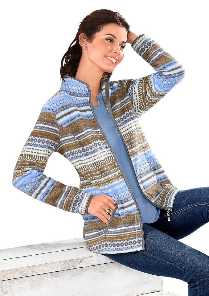 Damen Classic Basics Blazer mit Reverskragen blau | 08935237125016