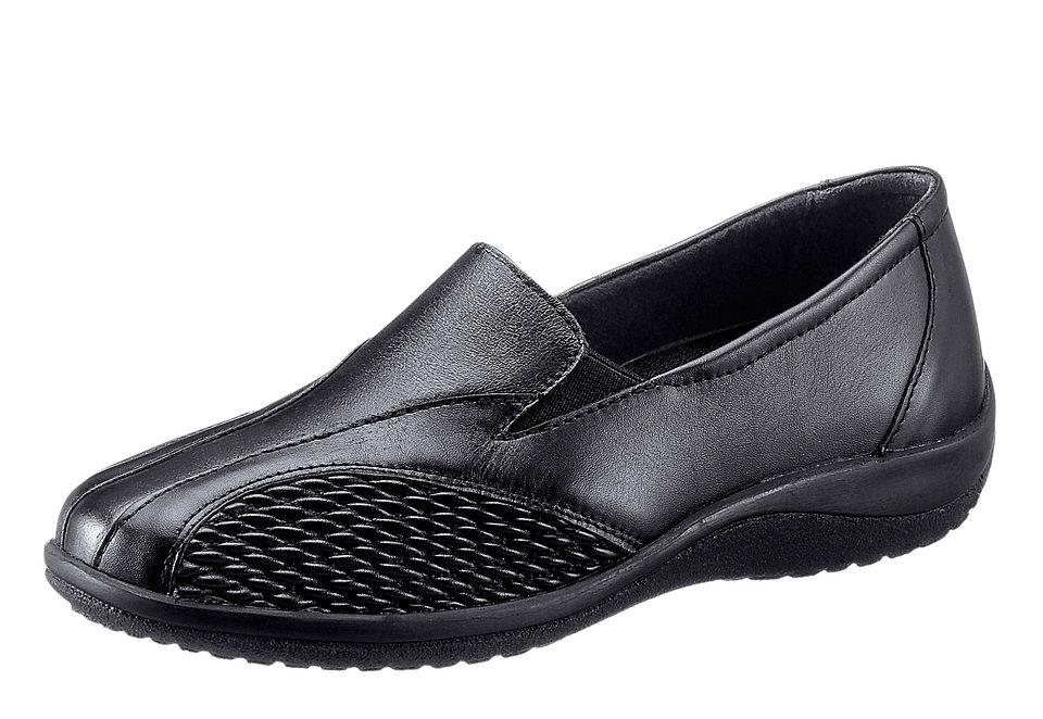 Regent Slipper mit elastischen Einsätzen an der Seite online kaufen  schwarz