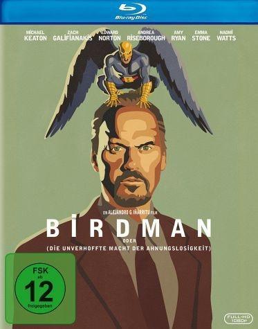 Blu-ray »Birdman, oder (die unverhoffte Macht der...«
