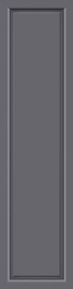 KM MEETH ZAUN GMBH Seitenteile »S04«, für Alu-Haustür, BxH: 50x198 cm, anthrazit in grau
