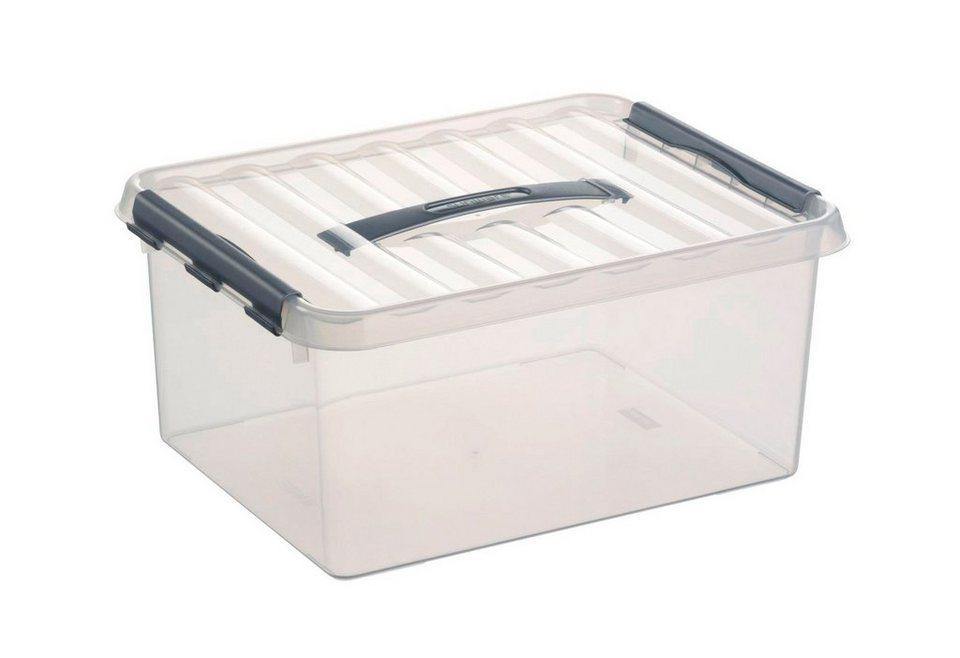 6er Set Aufbewahrungsboxen »15 Liter« in weiß