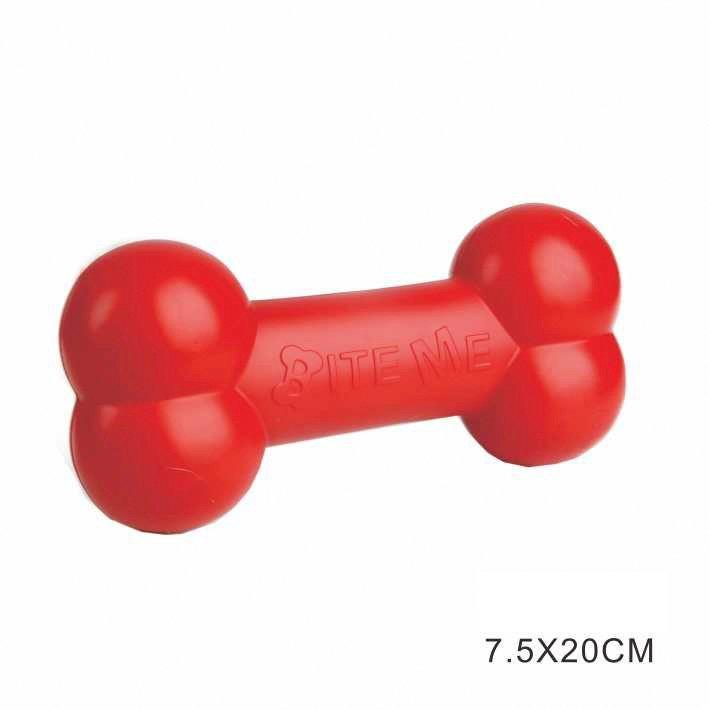 Hunde-Spielzeug-Set, 3-tlg. in rot