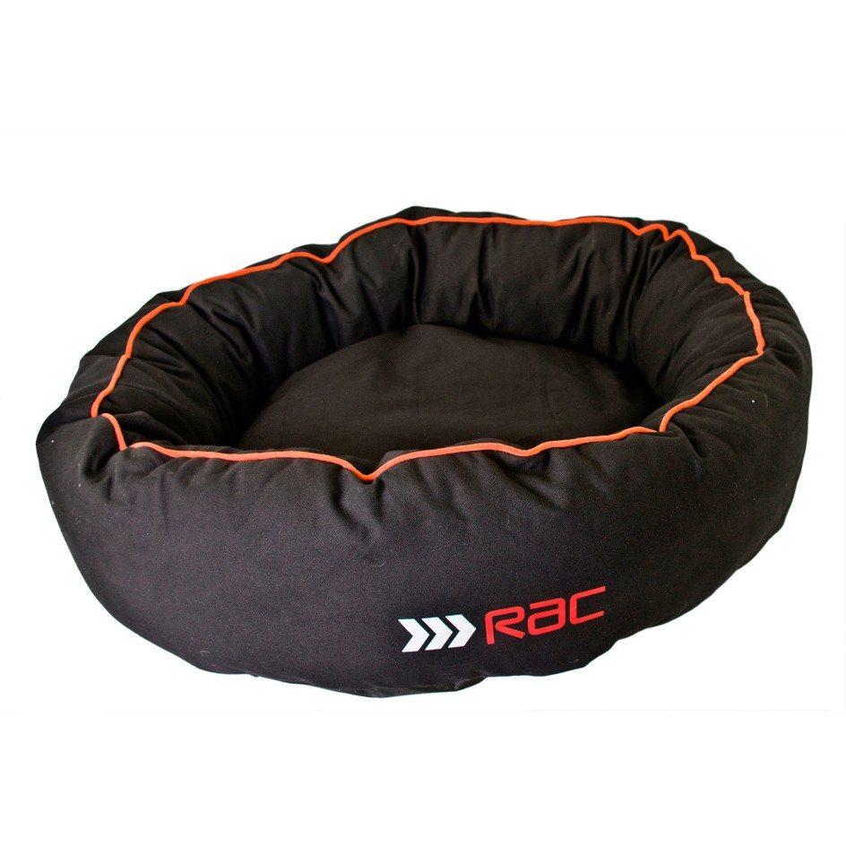Hundebett »RAC Donut« in schwarz