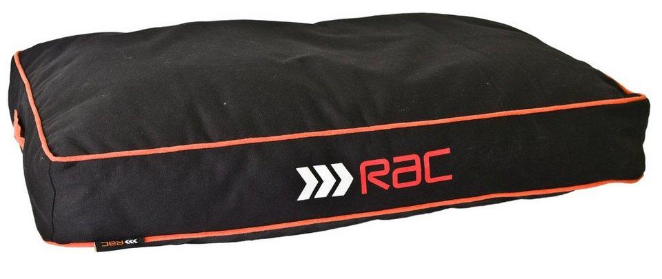 Hundekissen »RAC Matratze« in anthrazit/orange