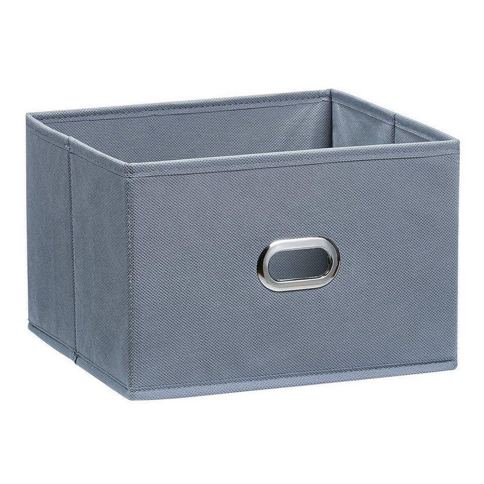Korb »Aufbewahrungsbox« in grau