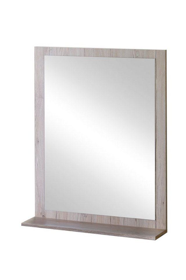 Spiegel »New York« 59 cm in eichefarben