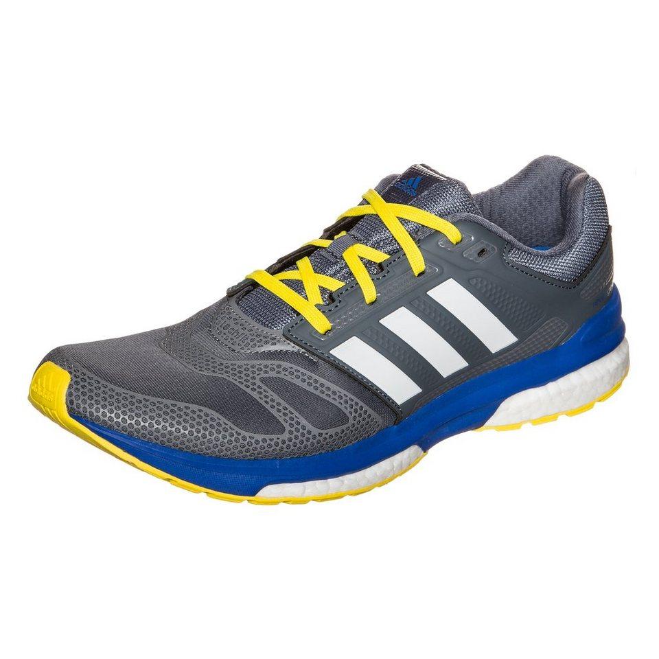 adidas Performance Revenge Boost 2 Laufschuh Herren in grau / blau / weiß