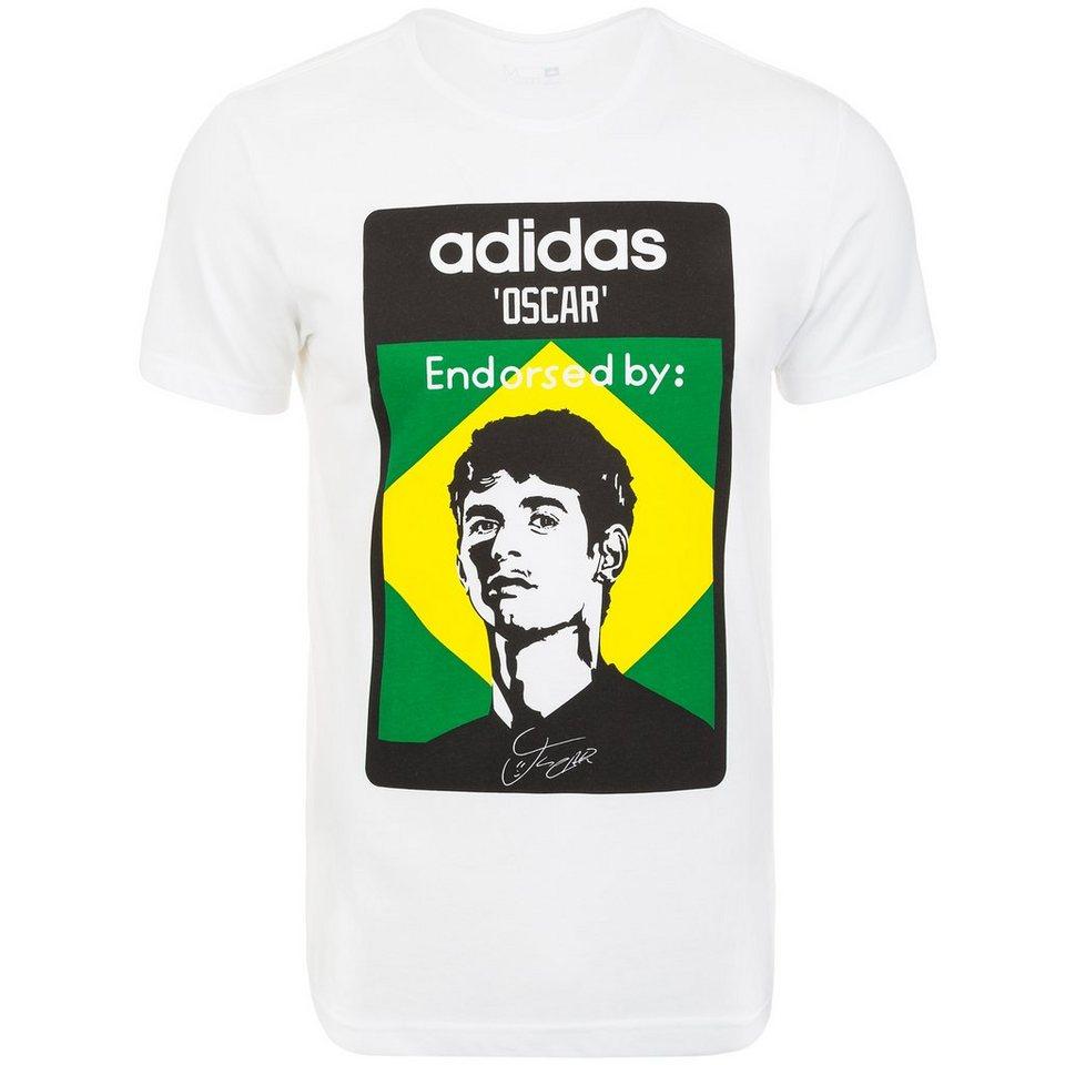 adidas Performance Oscar T-Shirt Herren in weiß