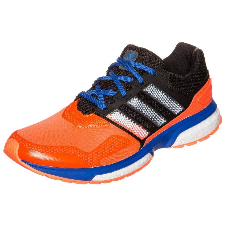 adidas Performance Response Boost 2 Laufschuh Herren in orange / schwarz