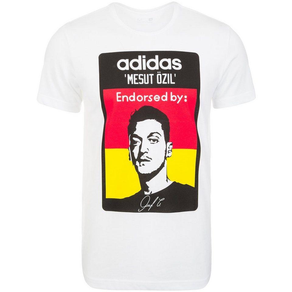 adidas Performance Özil T-Shirt Herren in weiß