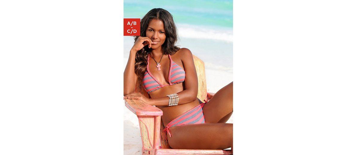 Venice Beach Triangel-Bikini mit Flecht-Detail