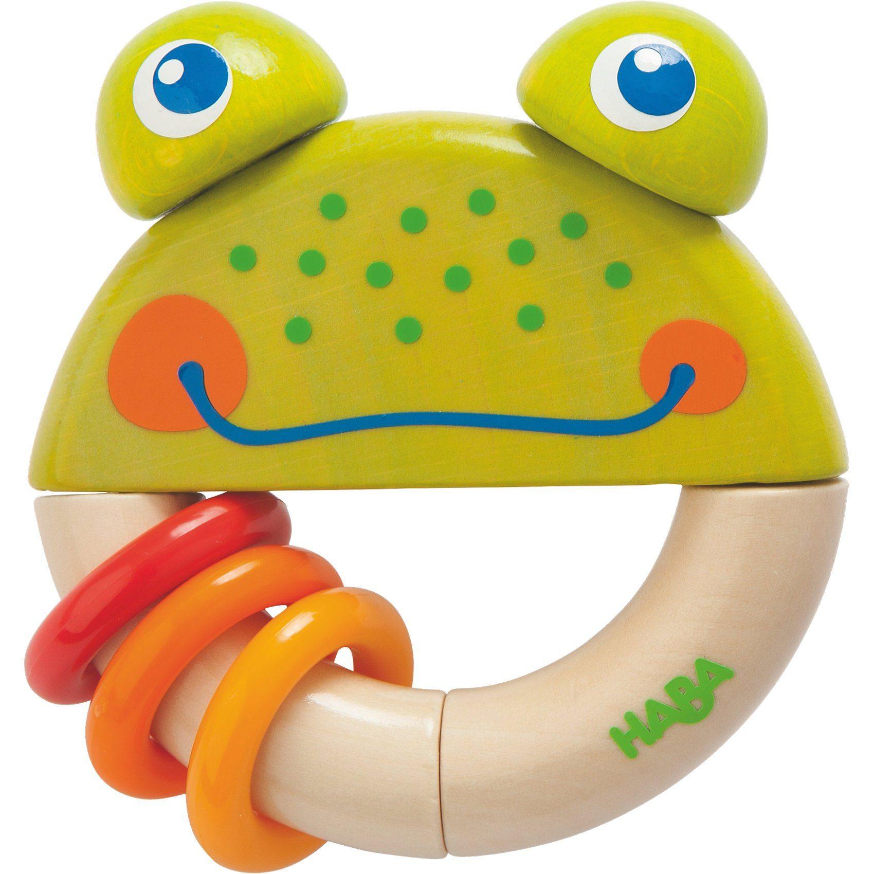 Haba Greifling Frosch Frido
