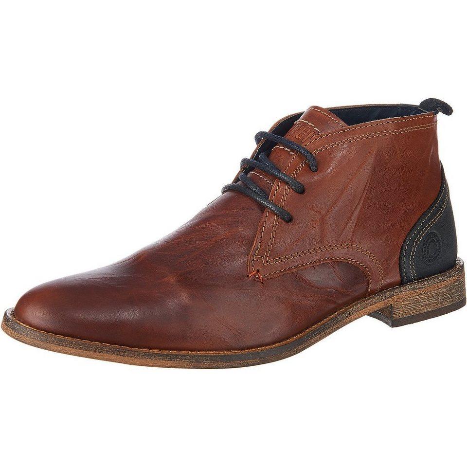 BULLBOXER Freizeit Schuhe in braun-kombi