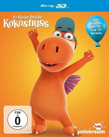 Blu-ray »Der kleine Drache Kokosnuss 3D«