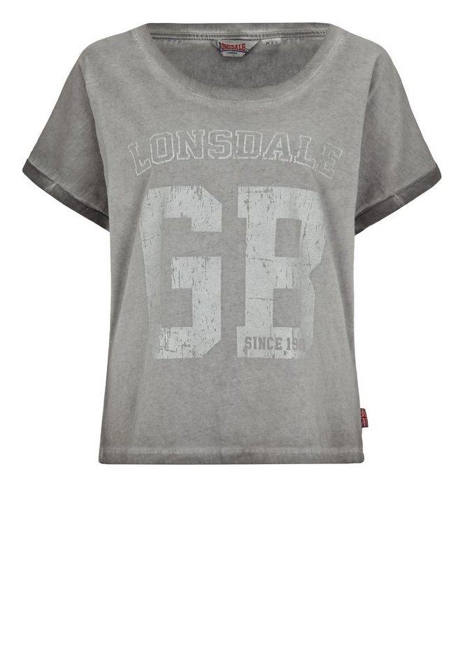 Lonsdale T-Shirt »WINTERTON« in Dark Grey