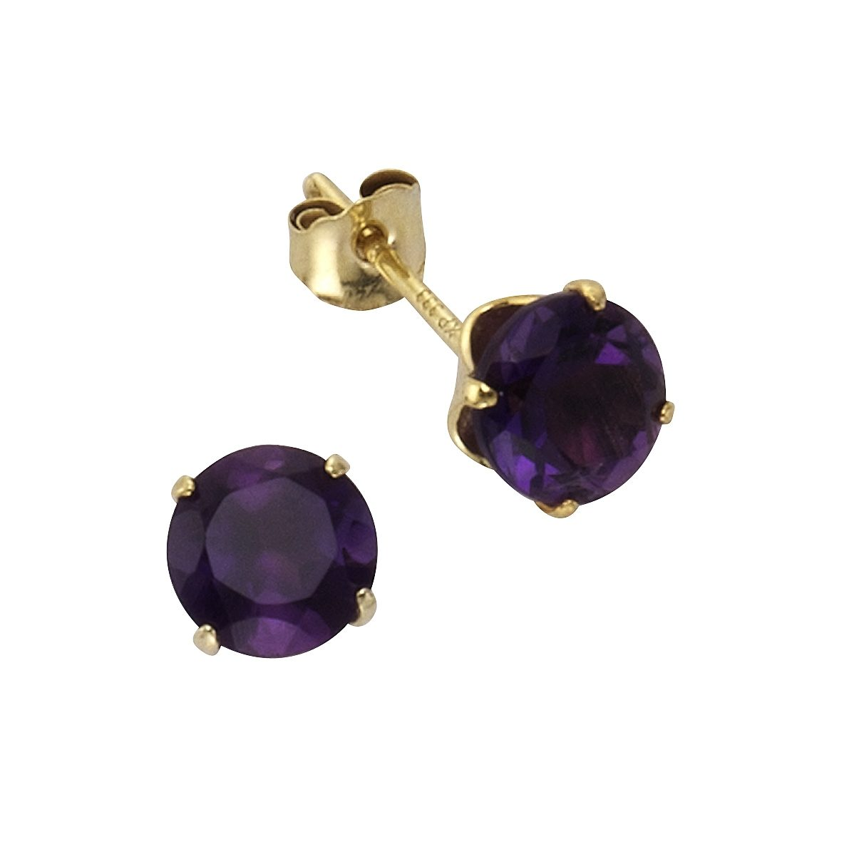 Fascination by Ellen K. Ohrstecker »333/- Gelbgold Amethyst«