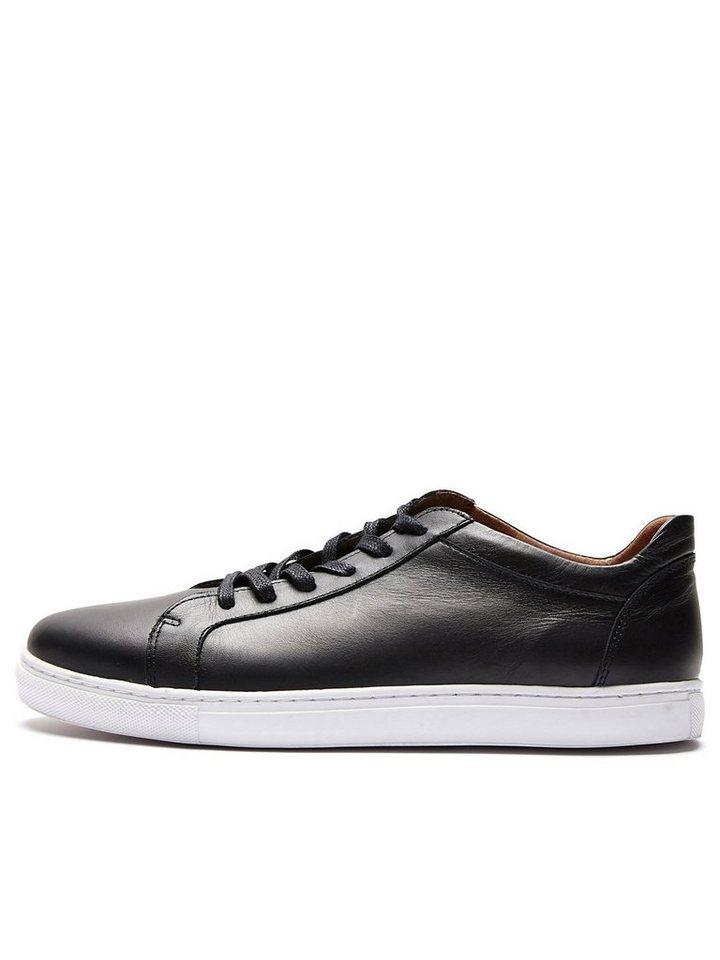 Selected Leder - Sneaker in Black