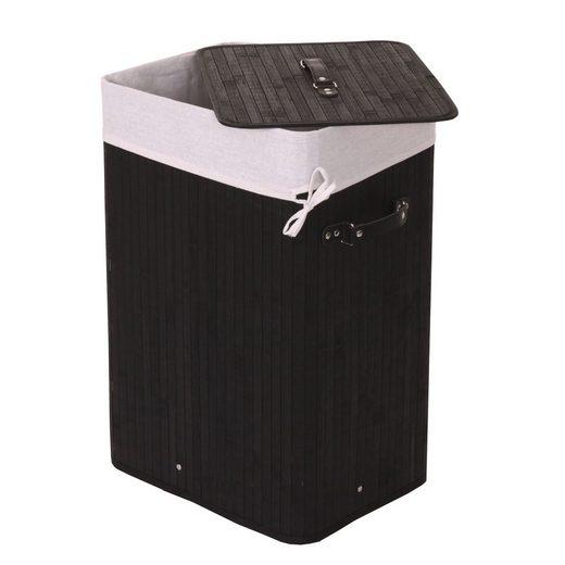 MCW Wäschekorb »MCW-C21-70«, Herausnehmbarer Wäschesack, Mit Bodeneinsatz