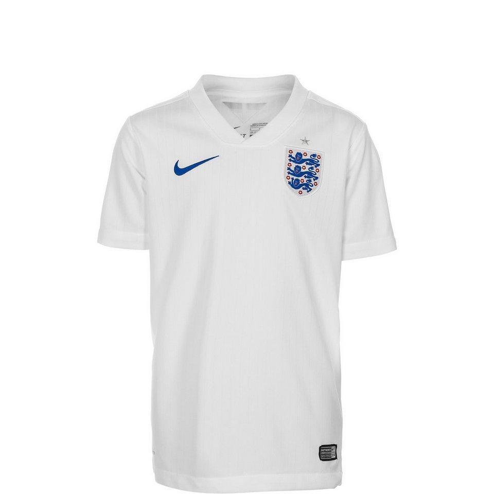 NIKE England Trikot Home Stadium WM 2014 Kinder in weiß / blau