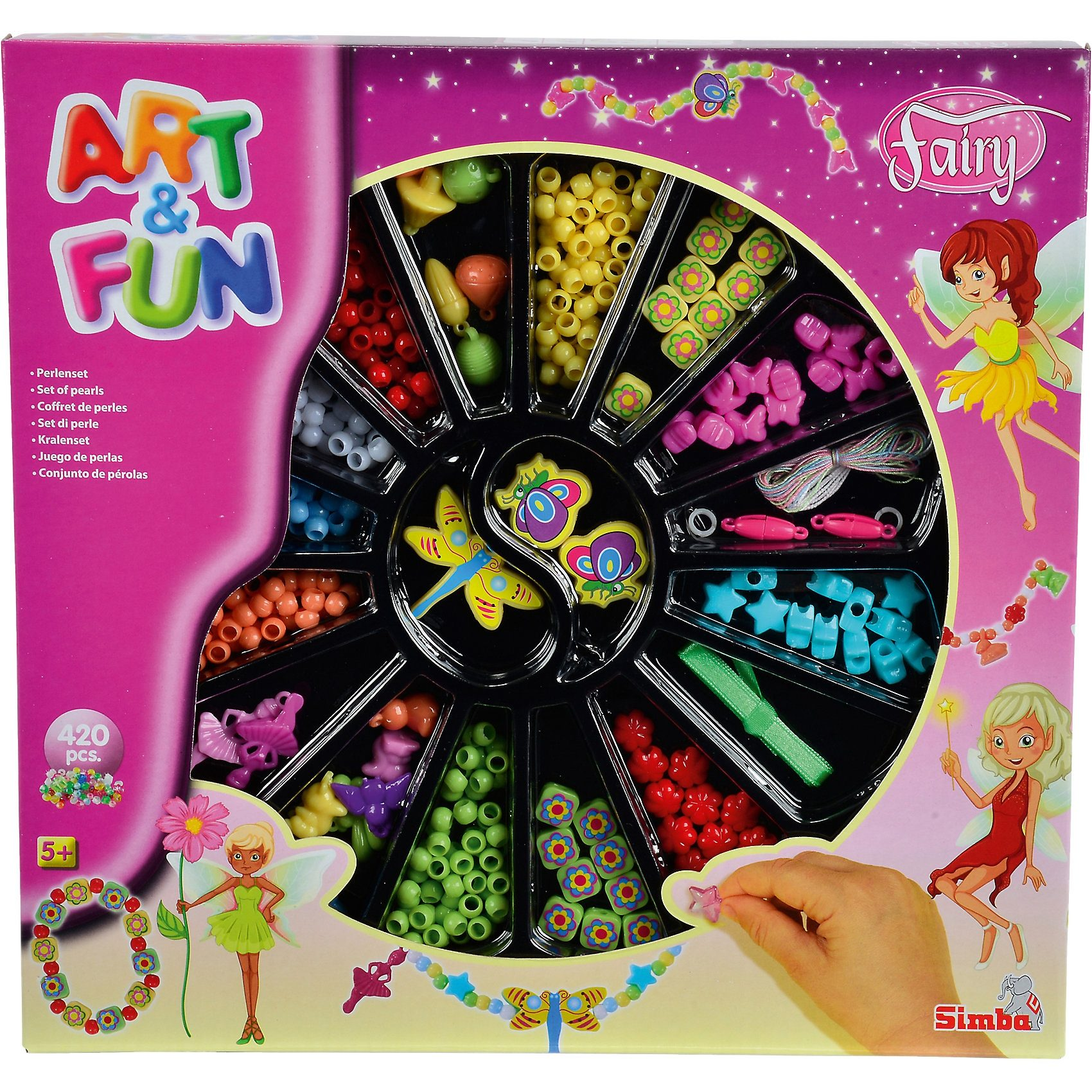 Simba Art & Fun Feen Perlenset
