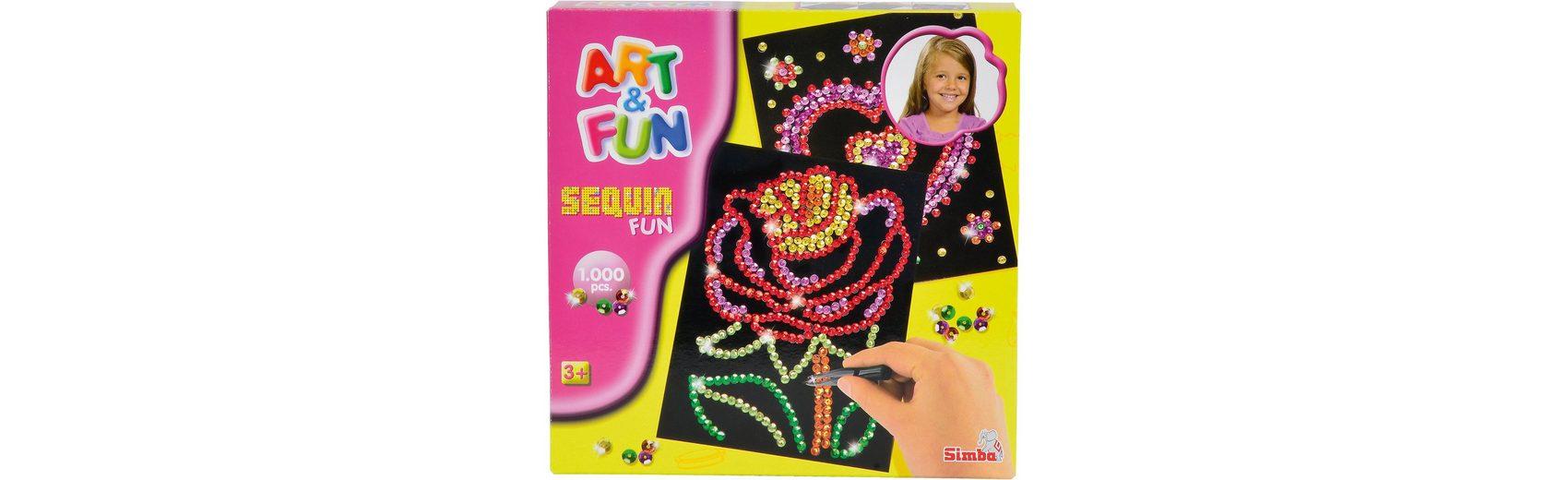 Simba Art & Fun Sequin Fun Blume/Herz